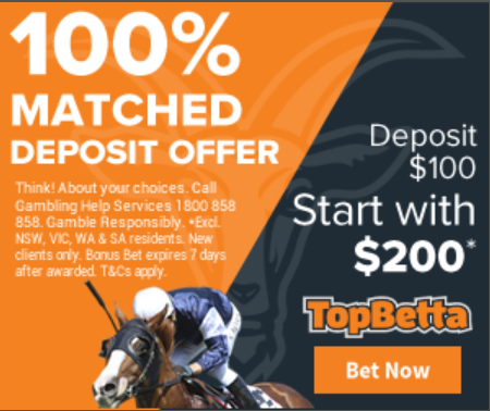topbetta free bet 100 matched